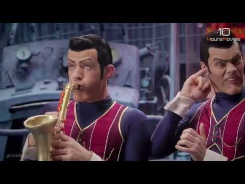 We Are Number One but it's co-performed by Epic Sax Guy 10 Hours