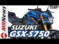 NOVA SUZUKI GSX-S750 2017 - MRNews