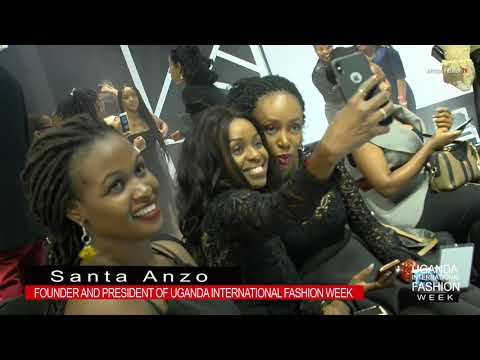 SANTA ANZO PRESIDENT OF UGANDA FASHION WEEK