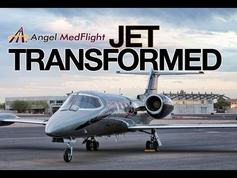 Jet Transformation: Angel MedFlight Air Ambulance