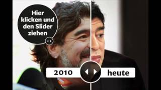 The Best Memes On Diego Maradona's Bizarre New Face