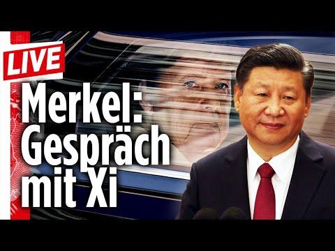 🔴  Zwischen Moria und China: Der Tag von Angela Merkel   BILD Live