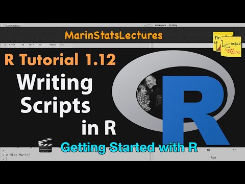 Scripts for Reproducible Research in R (R Tutorial 1.11)