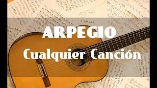 ARPEGIOS BASE PARA CUALQUIER CANCIÓN