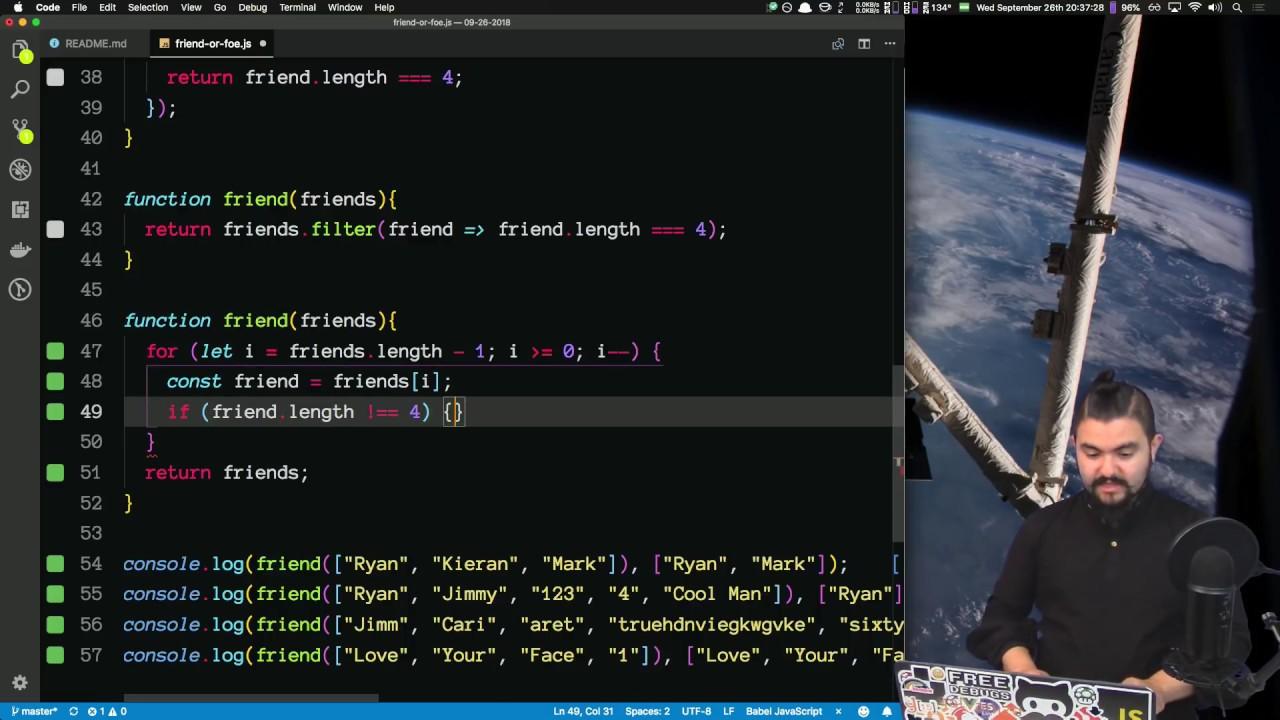 Download Code Katas #18 - Solving Code Wars Katas and Talking Through My Process