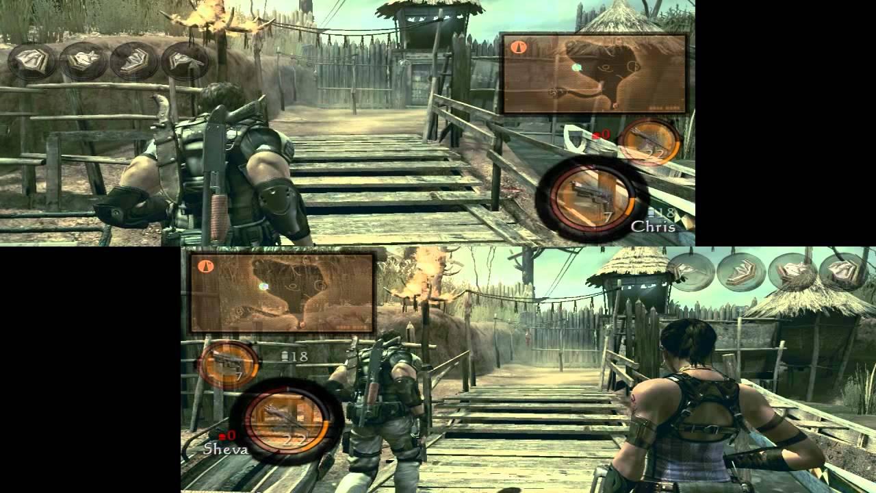 Resident Evil 5 Pc Split Screen Coop Pl Youtube