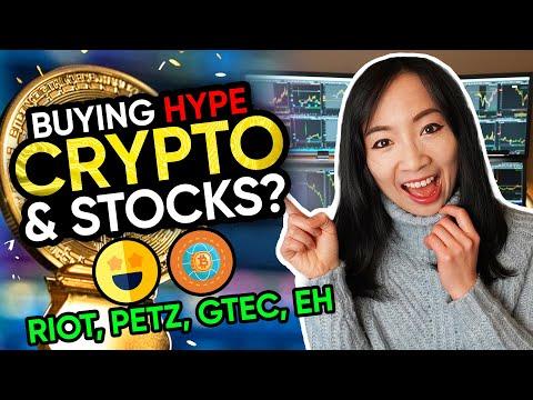 Trading Crypto & Hype Stocks? $RIOT $GTEC $PETZ $AMC $QS $EH recap