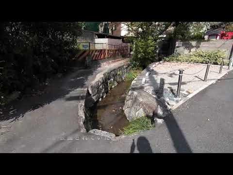 京都の路地から 岡崎・粟田学区の白川沿い