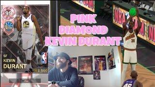 PINK DIAMOND KEVIN DURANT NBA 2K18 MyTEAM
