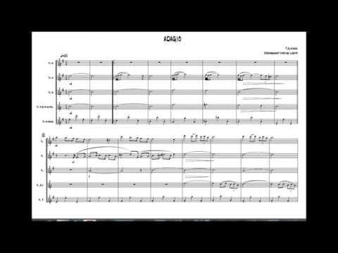 Adagio D'Albinoni Quintet  Flûtes