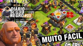 DIÁRIO do ELIXIR NEGRO #23 - E SE NÃO EXISTISSE TORRE INFERNO? - CLASH OF CLANS