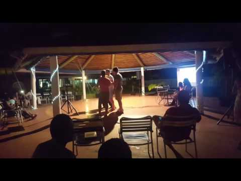 Karaoke @ the jolly beach resort in Antigua #2