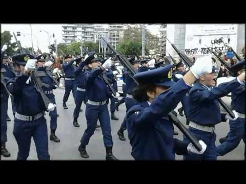 ΣΥΔ Σχολή Ικάρων Παρέλαση 28 10 2016 Θεσσαλονίκη