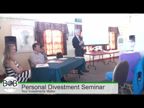 Your Investments Matter: Personal Divestment Seminar