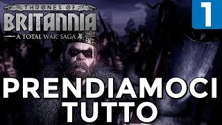PRENDIAMOCI TUTTO [Northumbria #1] THRONES OF BRITANNIA Gameplay ITA [TOTAL WAR SAGA]