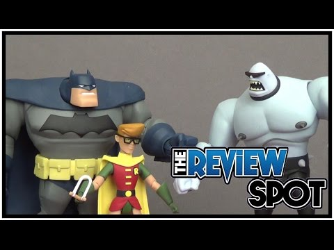 Toy Spot - DC Collectibles The New Batman Adventures Batman, Robin and Mutant Leader Figure Set