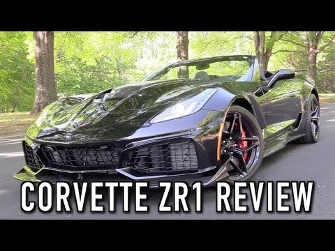 2019 Chevrolet Corvette ZR1 Convertible: Start Up, Test Drive & In Depth Review