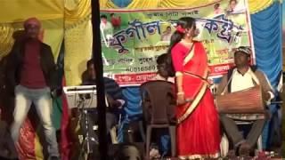 "SANTHALI SINGAR ""REKHA TUDU P""RERFORMANCE  FURGAL ORCHESTRA  program..."