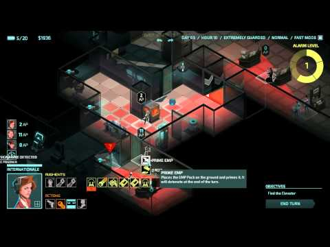 Invisible Inc Story 11 Memory Check