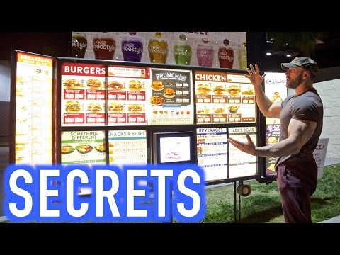 BODYBUILDING SECRETS AT JACK IN THE BOX