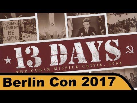 13 Tage: Die Kubakrise 1962 - Brettspiel - Berlin Con 2017