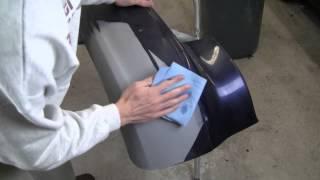 Learn Plastic Bumper Repair Vid 4/5:  Apply Base Coat