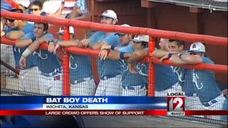 9-year-old batboy honored at team's 1st game since his d