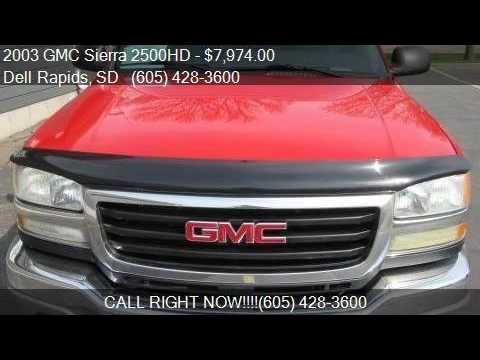 2003 gmc sierra 2500hd sle manual for sale in dell rapids s youtube rh youtube com 2010 gmc sierra service manual gmc sierra manual transmission swap