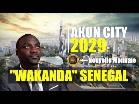 """""""Akon City"""" : Wakanda Biir Sénégal"""