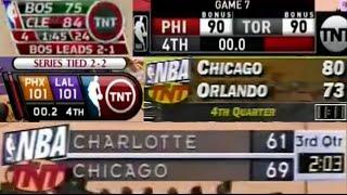 Evolution of NBA Scoreboards | Part 2 - NBA on TNT