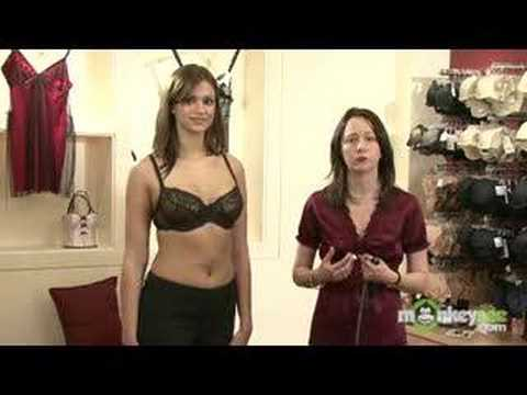 02673b88669 Bra Size - Measuring Cup Size - YouTube