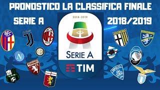 Come SarÀ La Classifica Finale Della Serie A 2018-19?