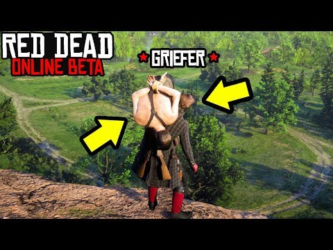 THIS GRIEFER STARTED CRYING in RED DEAD ONLINE! RDR2 Online Funny Moments!