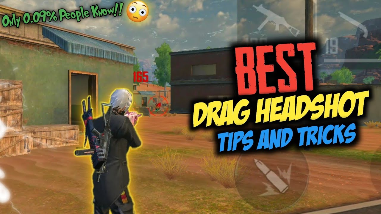 Drag Headshot Genuine Tips And Tricks | Only 0.09% People Know!!