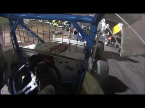 Onboard Plymouth Dirt Track 7/9/16 Sprint Car Heat, A Main