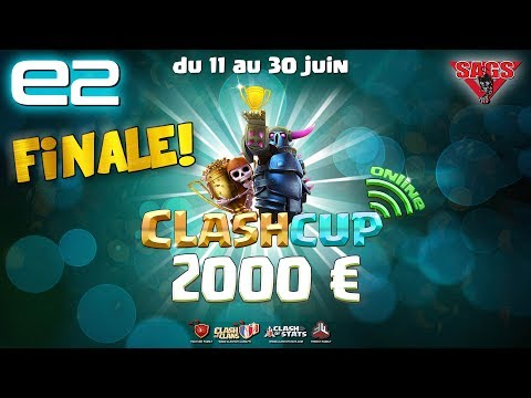 Clash Cup Clash of Clans - 2000€ CASH PRICE !!