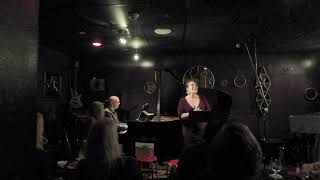 """Ema Mitrović """"A Wonderful Guy"""" live @Maureen's Jazz Cellar with David Budway, piano"""
