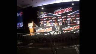 Cast of Minority Report at New York Comic Con