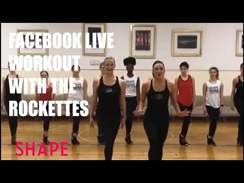 Facebook Live Workout With The Rockettes
