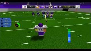 Roblox Legendary Football spielt