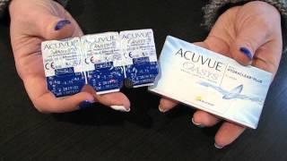 видео acuvue oasys линзы