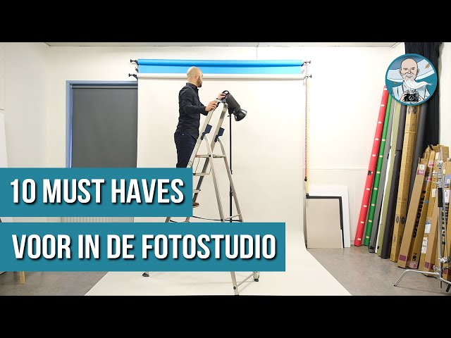 FOTOSTUDIO TIPS - 10 MUST HAVES!