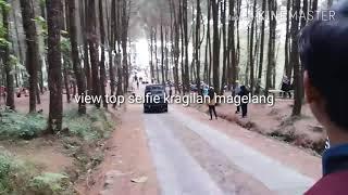 """View wisata """"Pinusan Top Selfie""""kragilan Magelang"""