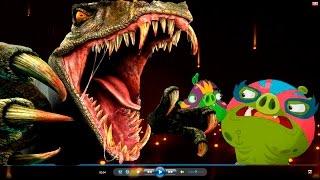 ЭНГРИ БЕРДС 4 СЕРИИ Все серии подряд ЗЛЫЕ ПТИЧКИ Angry Birds Мультфильм на русском