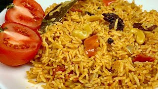 Tomato Rice Easily & Quickly | Tomato Rice