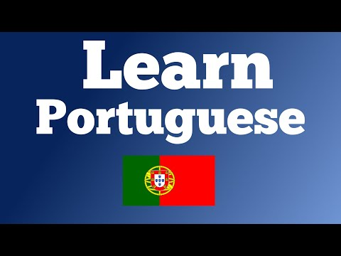 Learn Portuguese while sleeping (almost) - native speaker from Portugal