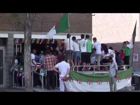 ALGERIE-RUSSIE joie à JEAN TALON MONTREAL