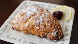 Lemon & Cranberry Scones