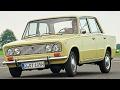 VAZ-2103 Jiqulinin ?kiz qarda?? Fiat 124 Special 1968-1974