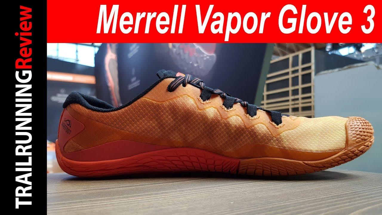 merrell vapor glove 4 trail running youtube